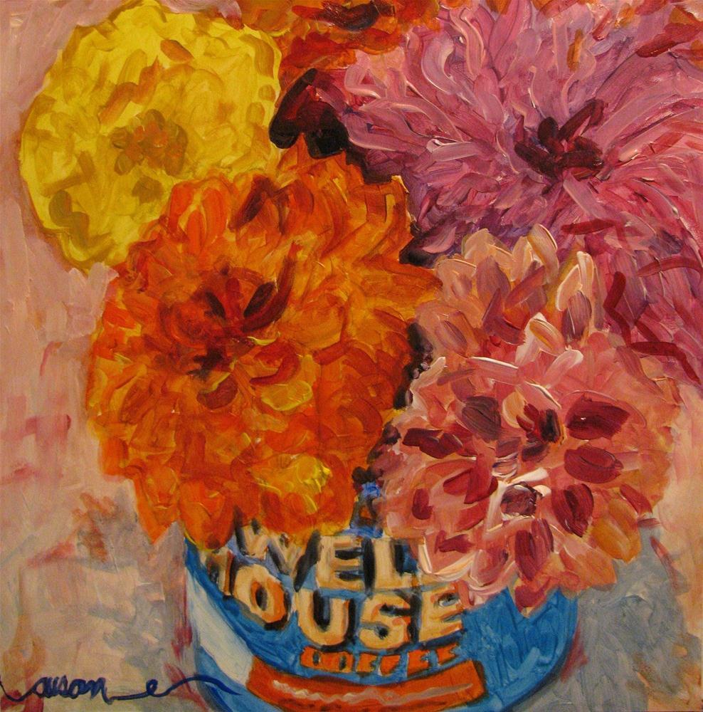 """Good to the Last Drop"" original fine art by Susan Elizabeth Jones"