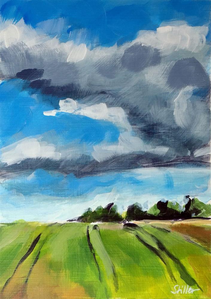"""2060 Cloud Formation Zeta"" original fine art by Dietmar Stiller"