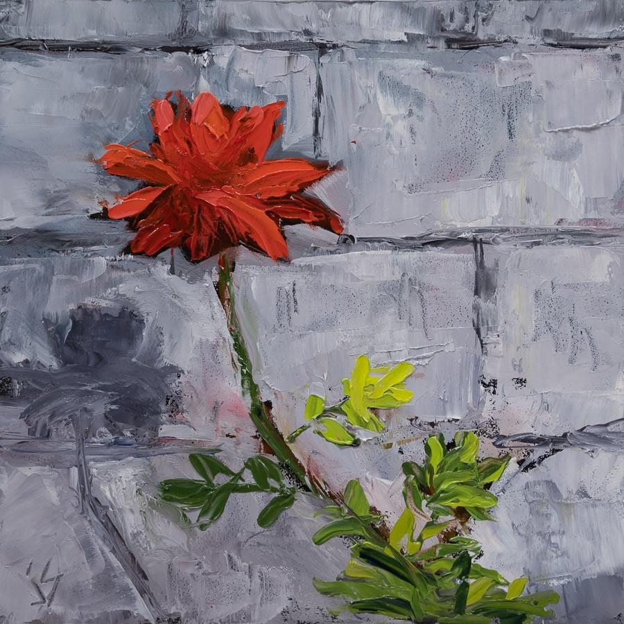 """Waiting for You"" original fine art by Johnna Schelling"