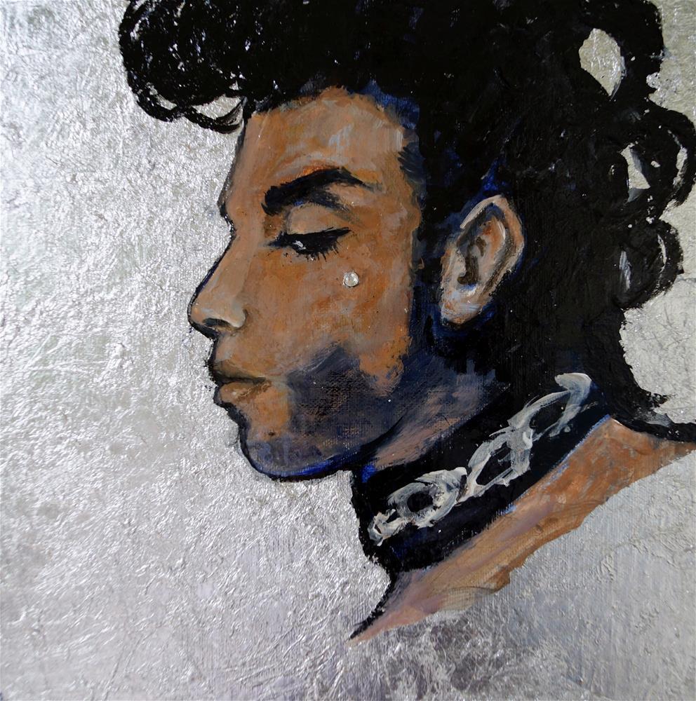 """Silver Prince"" original fine art by Valerie Vescovi"