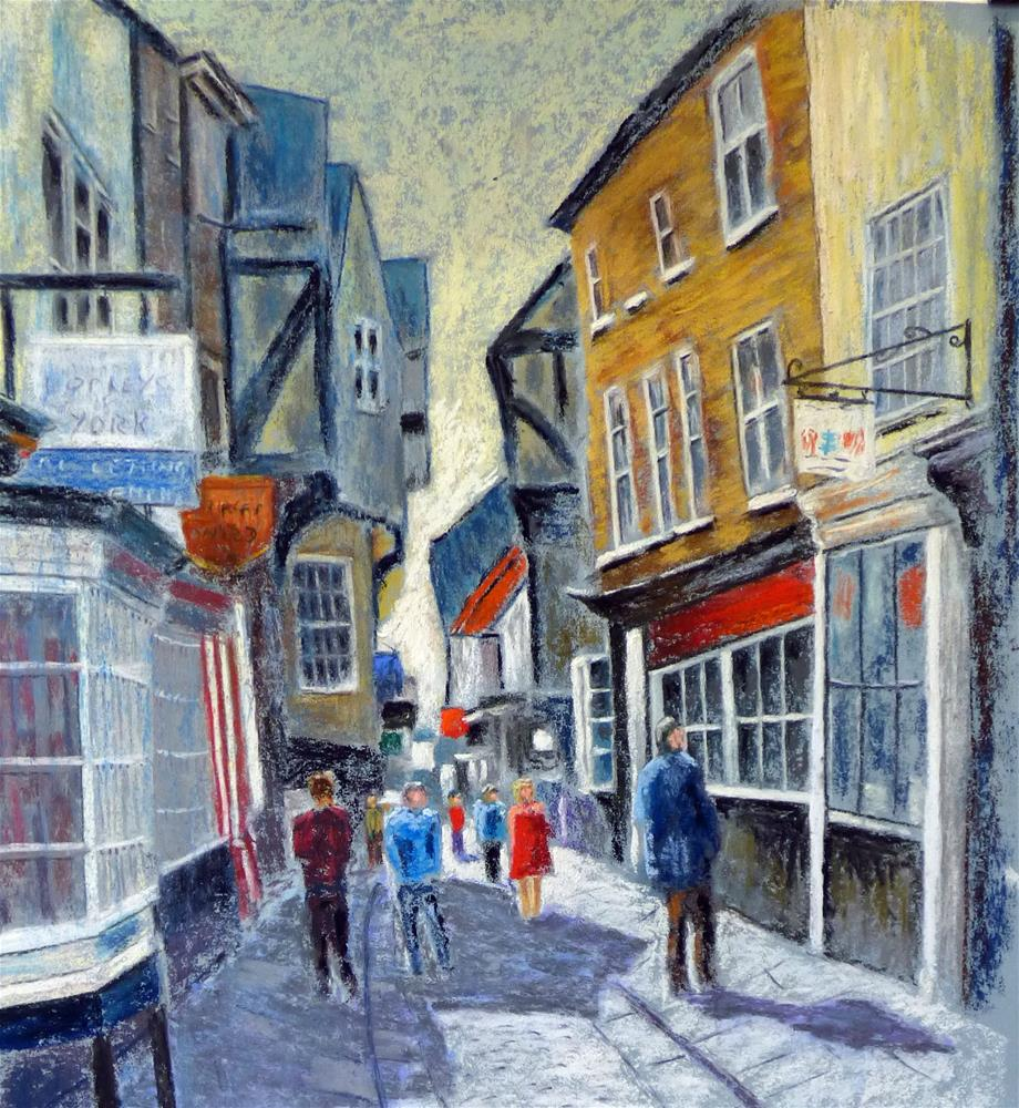 """The Shambles"" original fine art by James Humphreys"