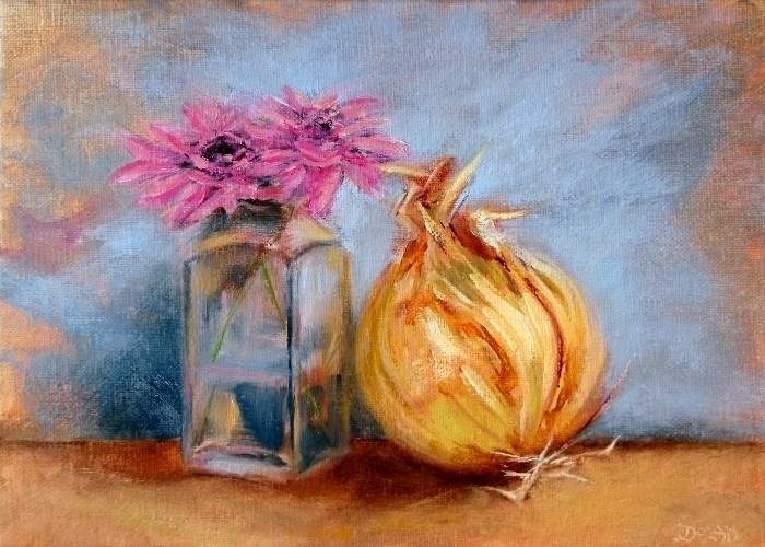 """Something Beautiful"" original fine art by Dalan Wells"