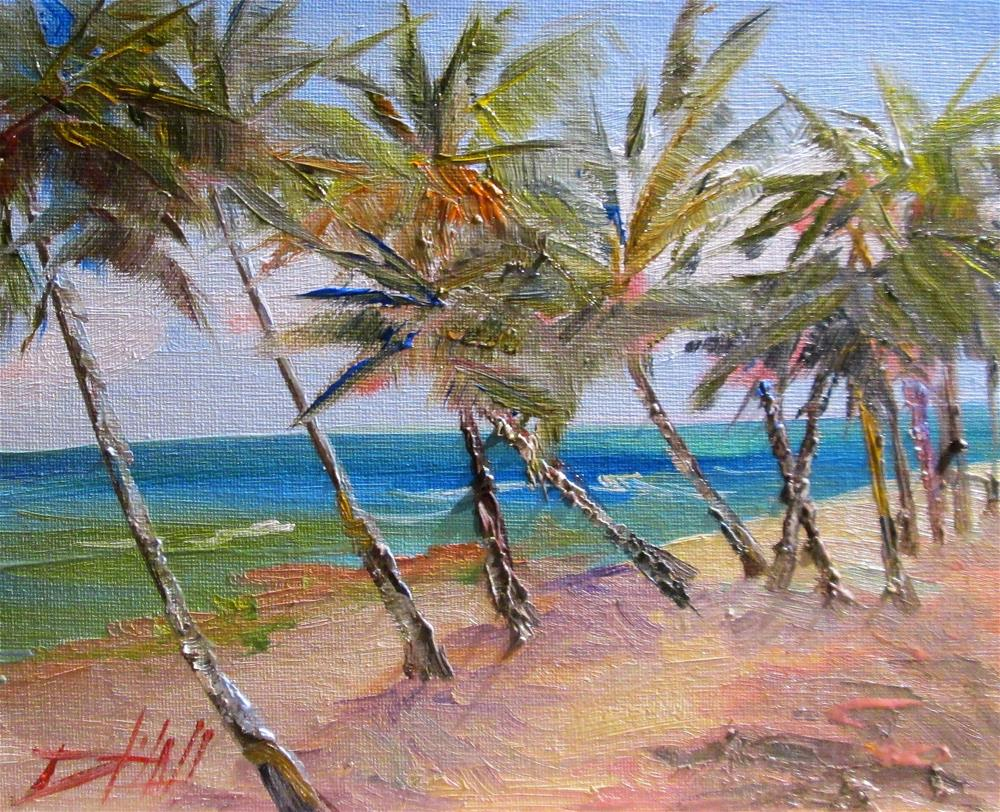 """Virgin Islands"" original fine art by Delilah Smith"