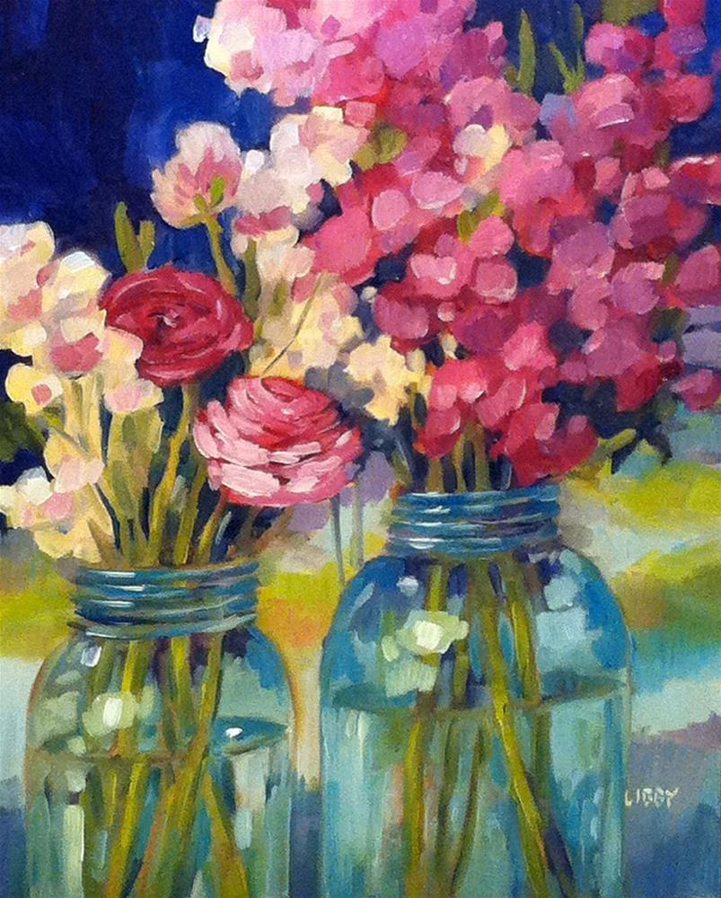 """""""Two of Us"""" original fine art by Libby Anderson"""
