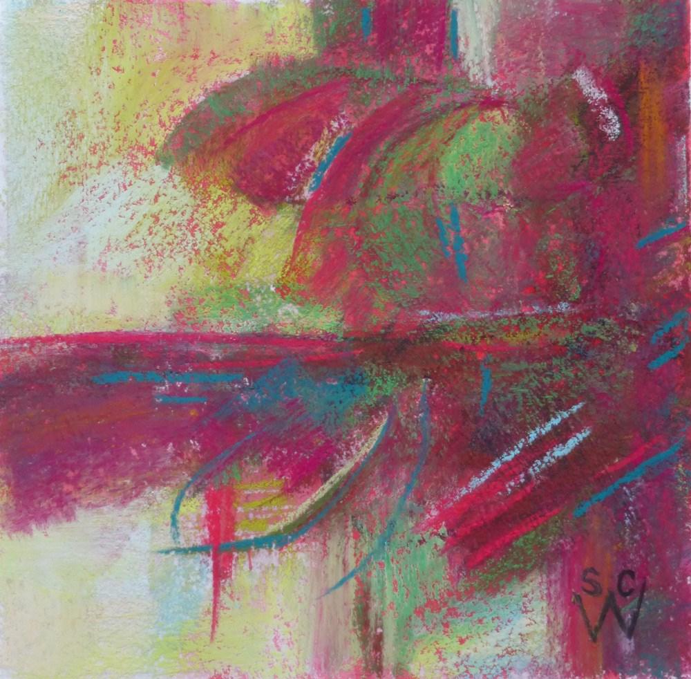 """Celebrate"" original fine art by Susan Woodward"
