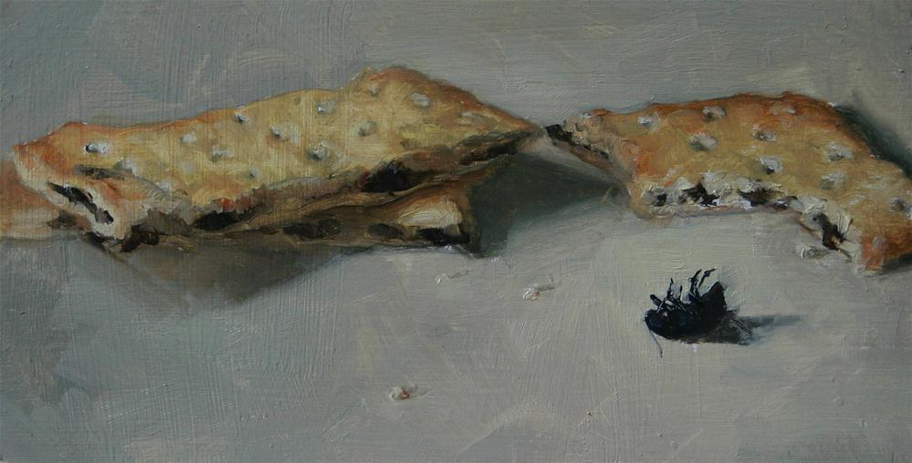 """Squashed flies"" original fine art by Liz Balkwill"