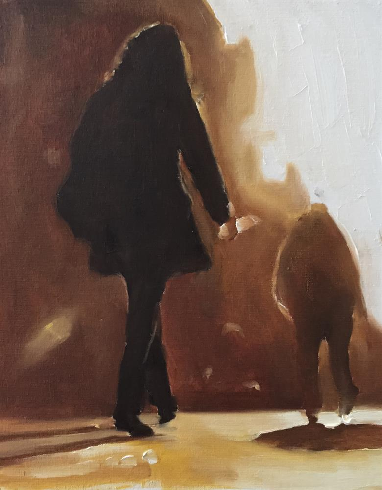 """The Walk Home"" original fine art by James Coates"