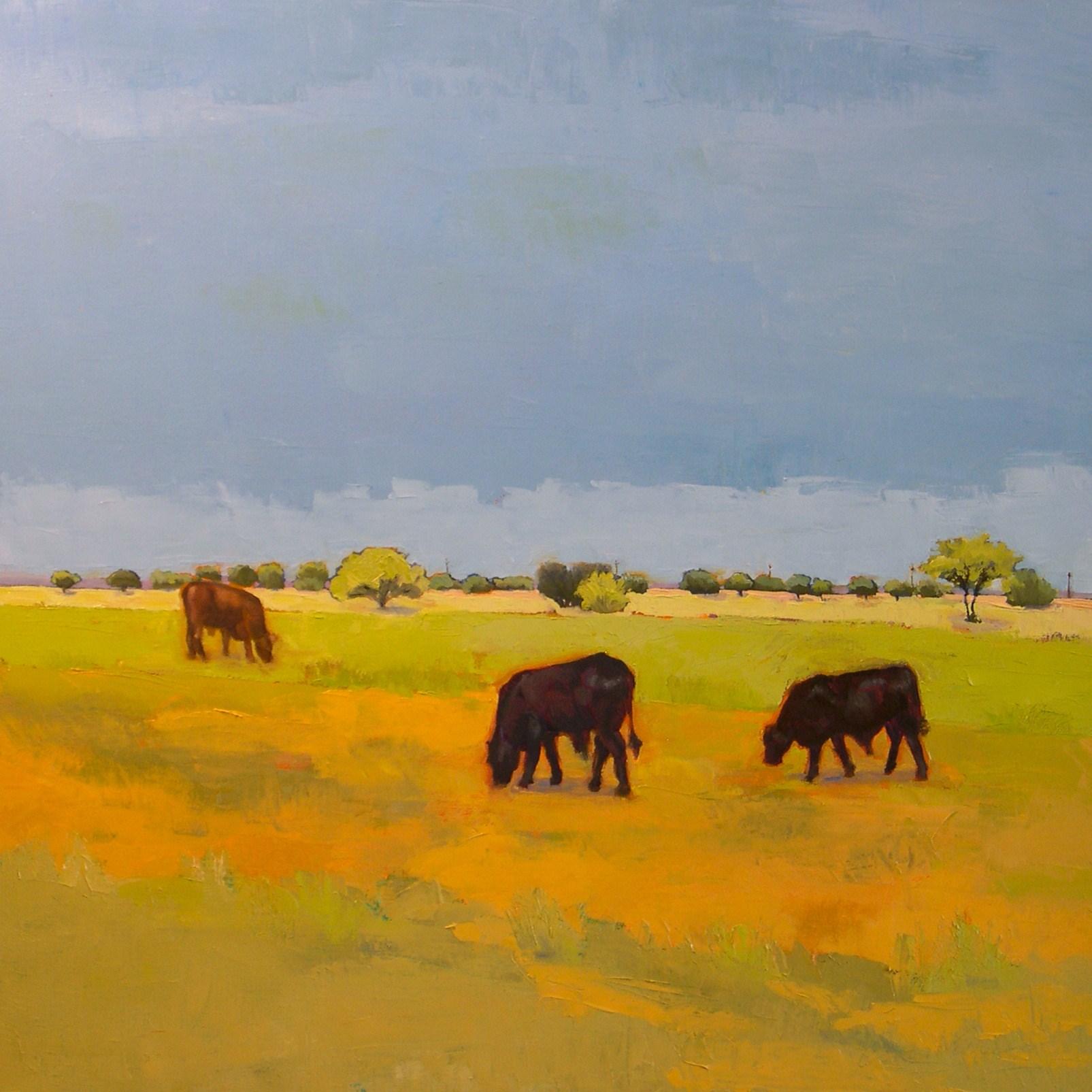 """""""Three Friends"""" original fine art by Donna Walker"""