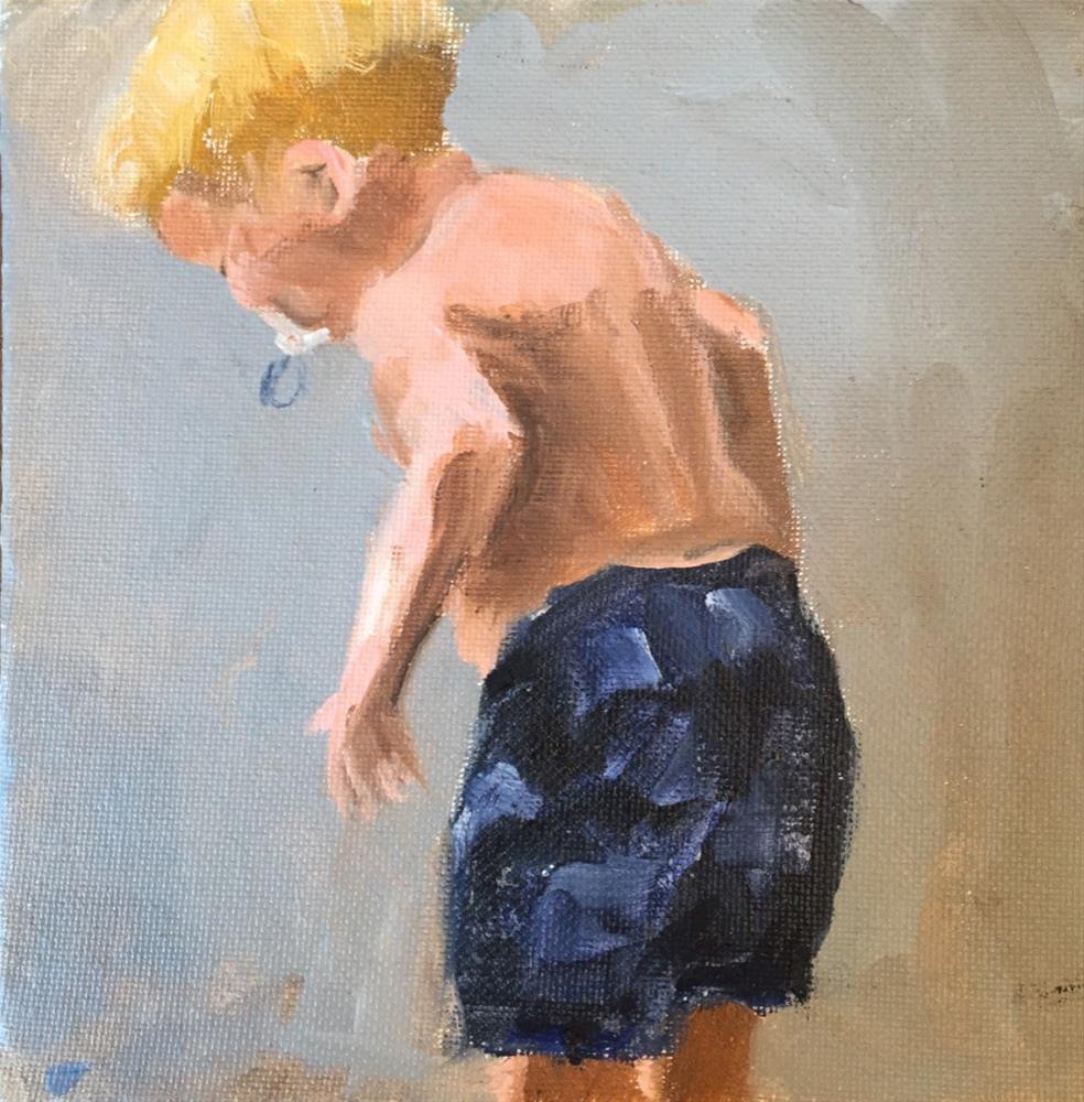 """Larson"" original fine art by David Wesselman"
