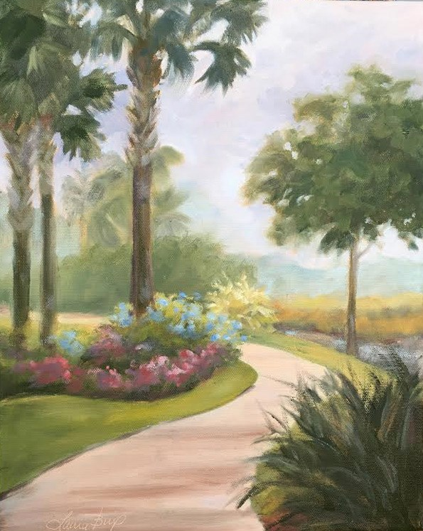 """The Path 510"" original fine art by Laura  Buxo"