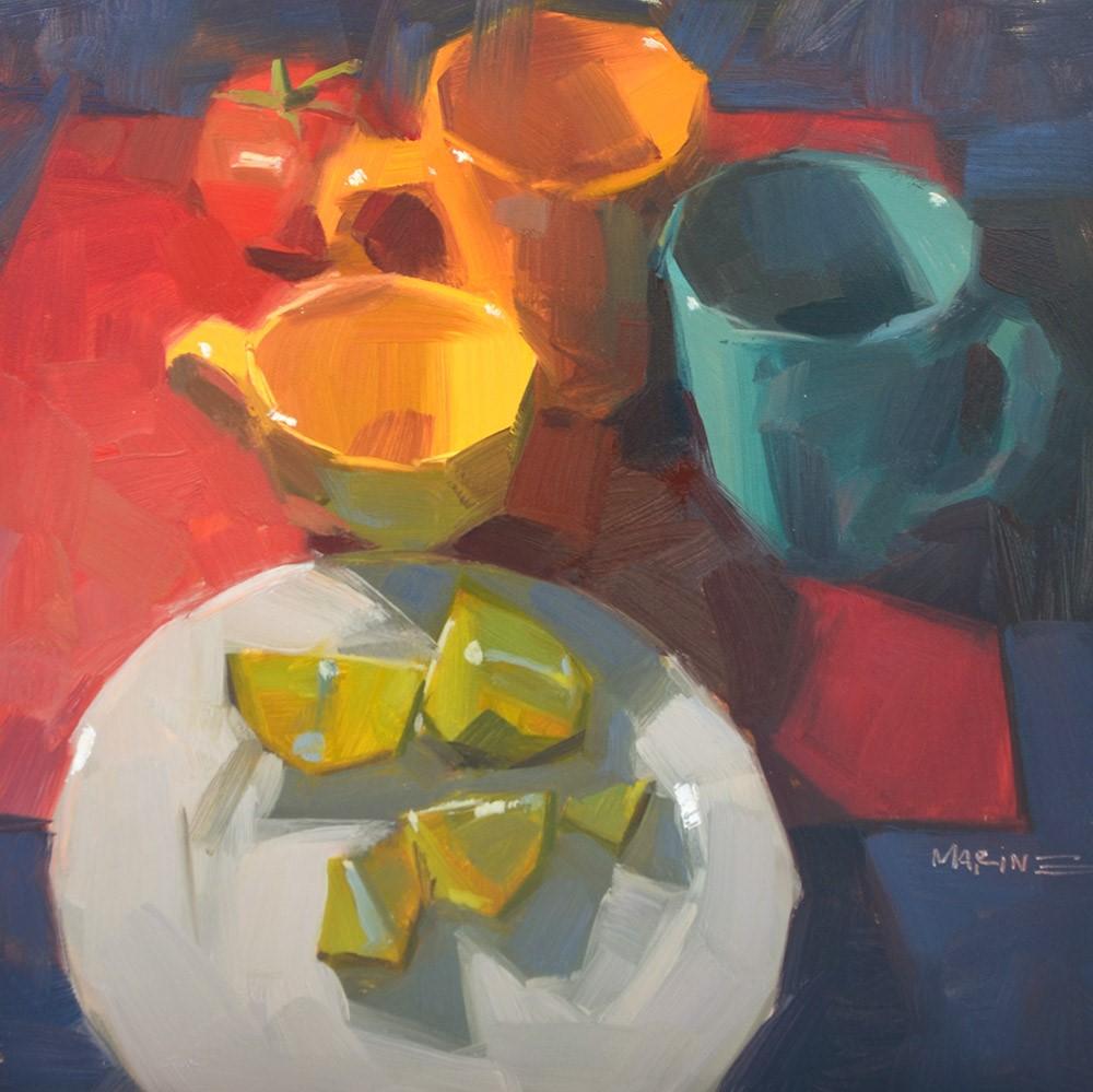 """""""Missing Tex-Mex"""" original fine art by Carol Marine"""