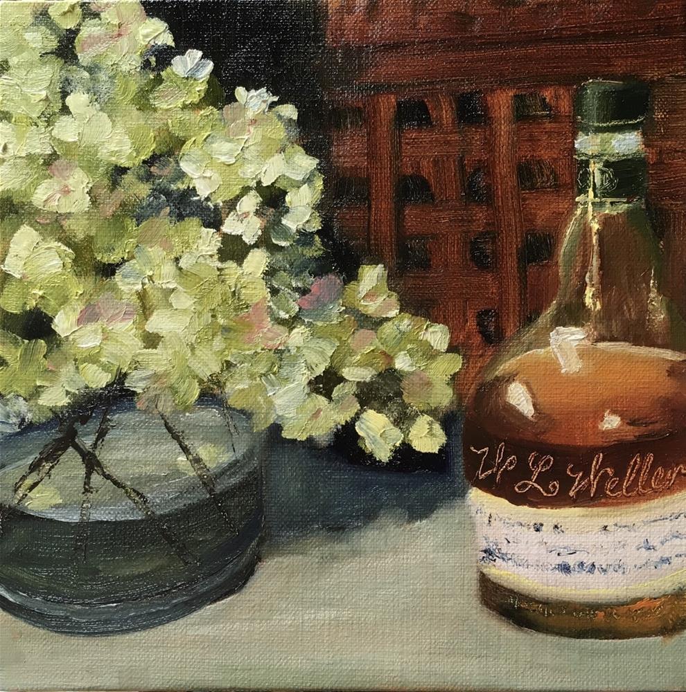 """The Bourbon Series - W.L. Weller"" original fine art by Elaine Ford"