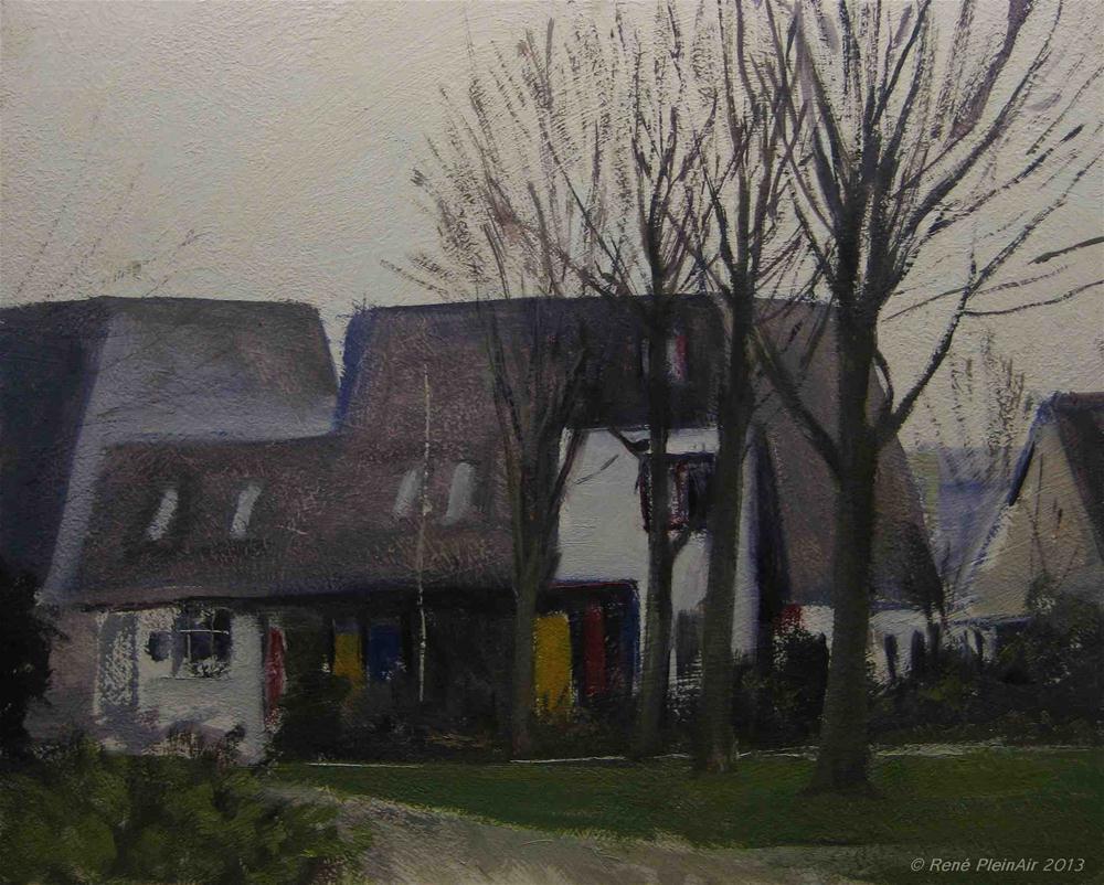 """Commission, Doetinchem, Holland."" original fine art by René PleinAir"