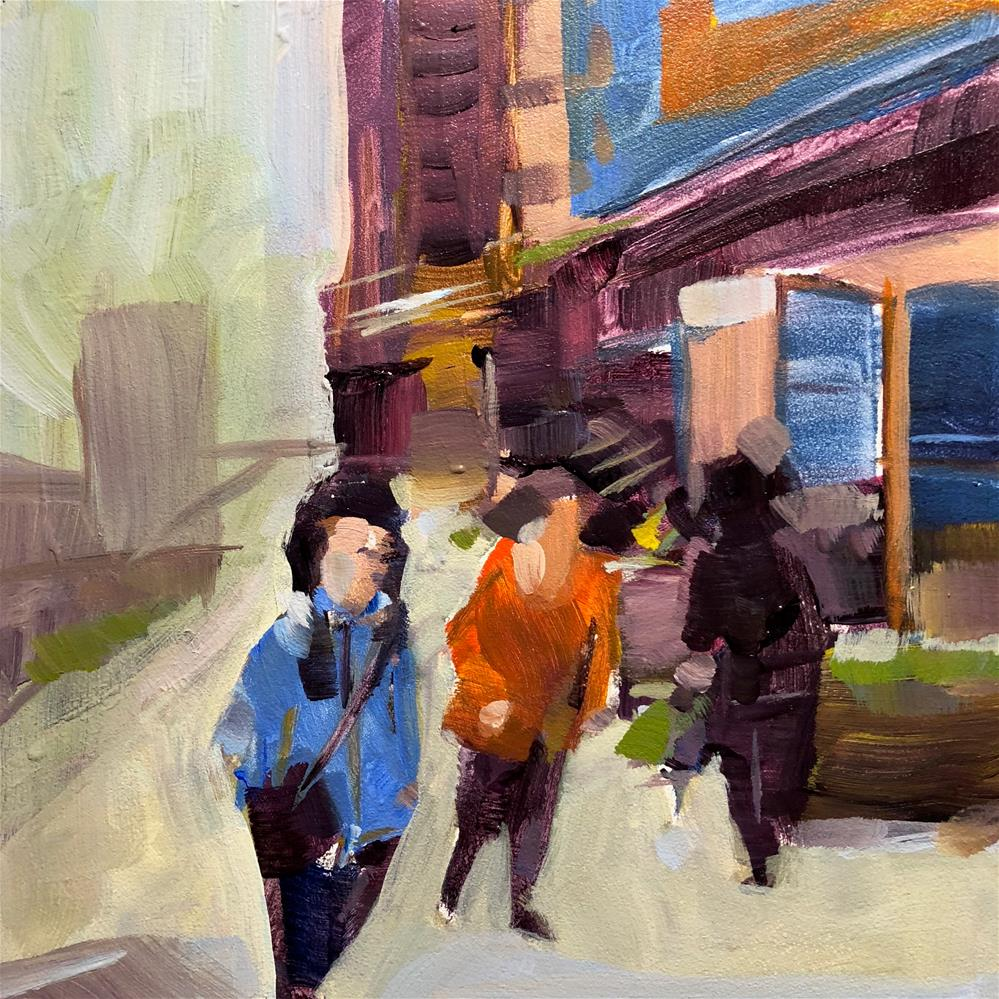 """0804: Stroll"" original fine art by Brian Miller"