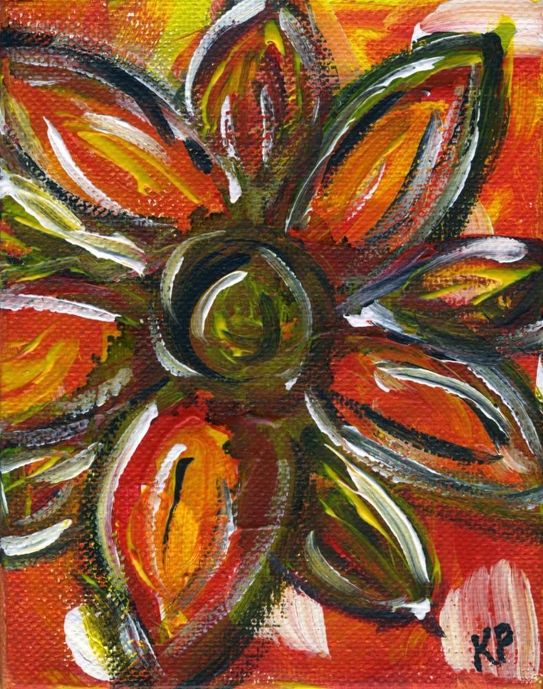 """The Sun on My Face"" original fine art by Kali Parsons"