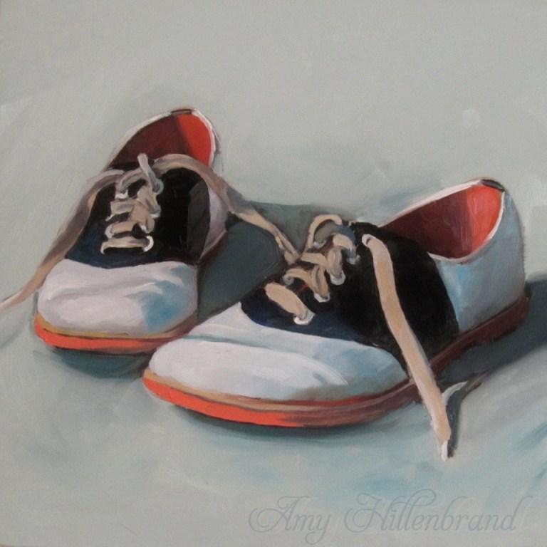 """Saddled and Worn"" original fine art by Amy Hillenbrand"