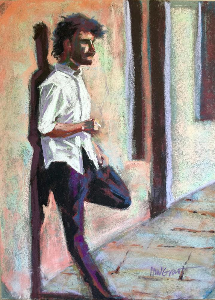 """""""Sun Drenched Florence"""" original fine art by Michelle Wells Grant"""