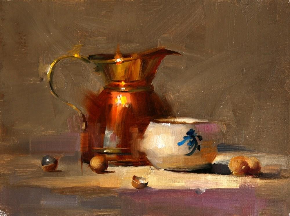 """Dragon's Eyeballs"" original fine art by Qiang Huang"