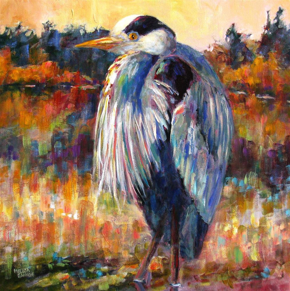 """""""Meditating"""" original fine art by Melissa Gannon"""