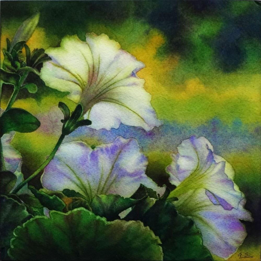 """""""Summer Gleam"""" original fine art by Arena Shawn"""