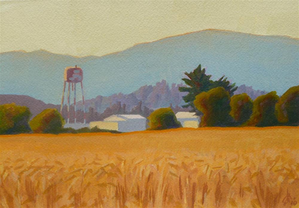 """""""Water Tower"""" original fine art by Mark Allison"""