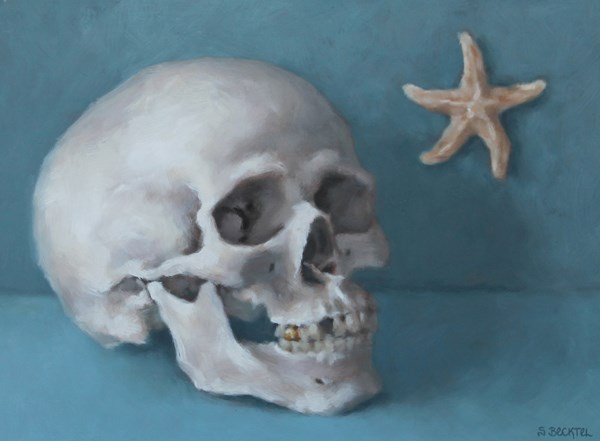"""Lost at Sea"" original fine art by Sarah Becktel"