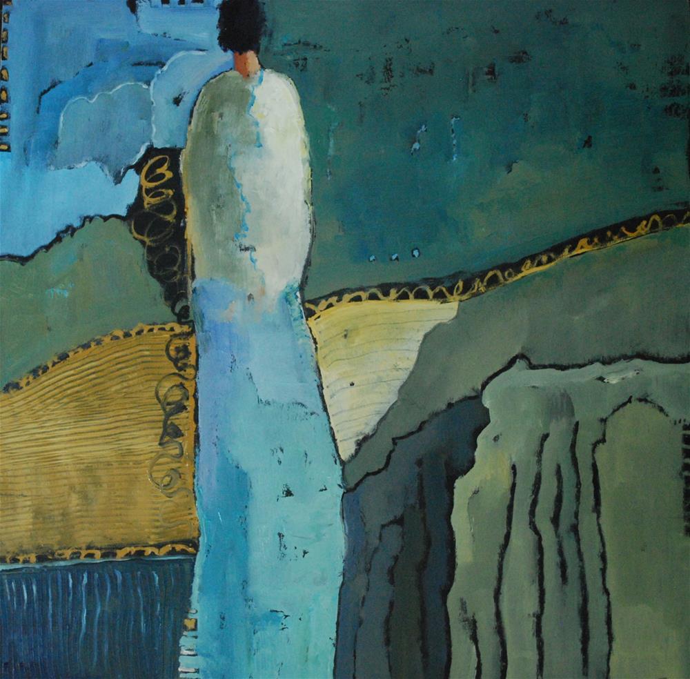 """Pacific Time"" original fine art by Deborah Harold"