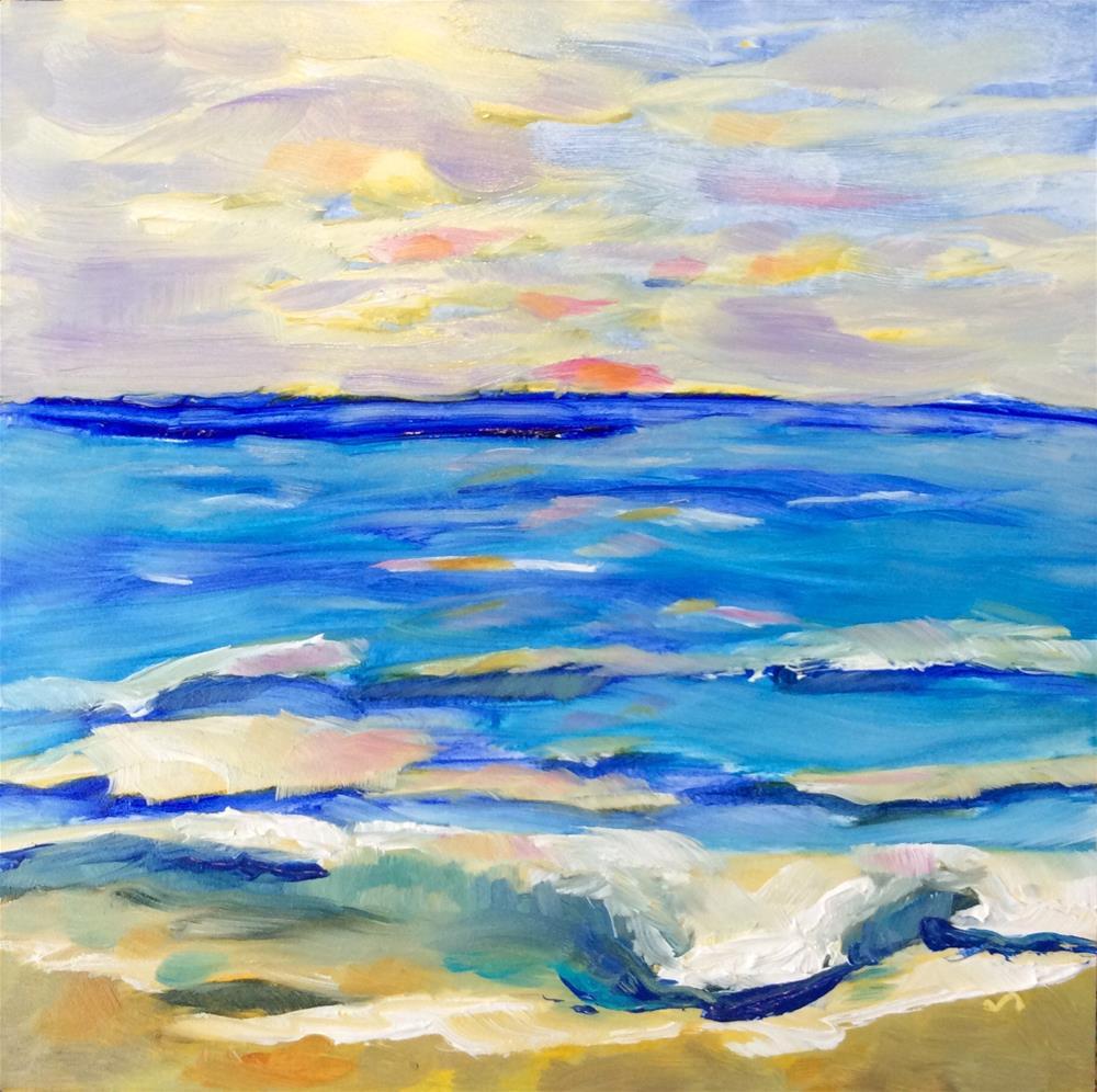 """""""Meditation"""" original fine art by Molly Rohrscheib Hathaway"""