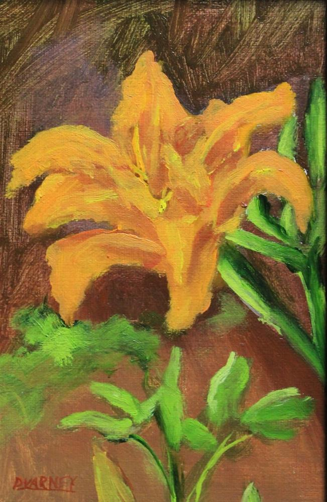 """Tiger Lily"" original fine art by Daniel Varney"