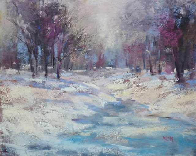 """Pastel Tip of the Week: A Simple Save"" original fine art by Karen Margulis"