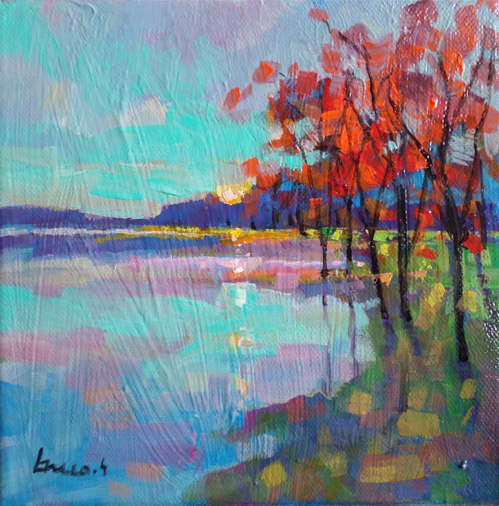 """One morning"" original fine art by salvatore greco"