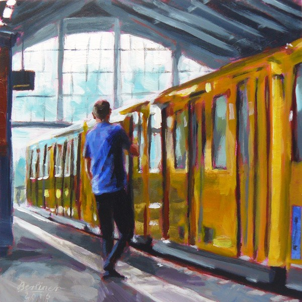 """065 U2"" original fine art by Anja Berliner"