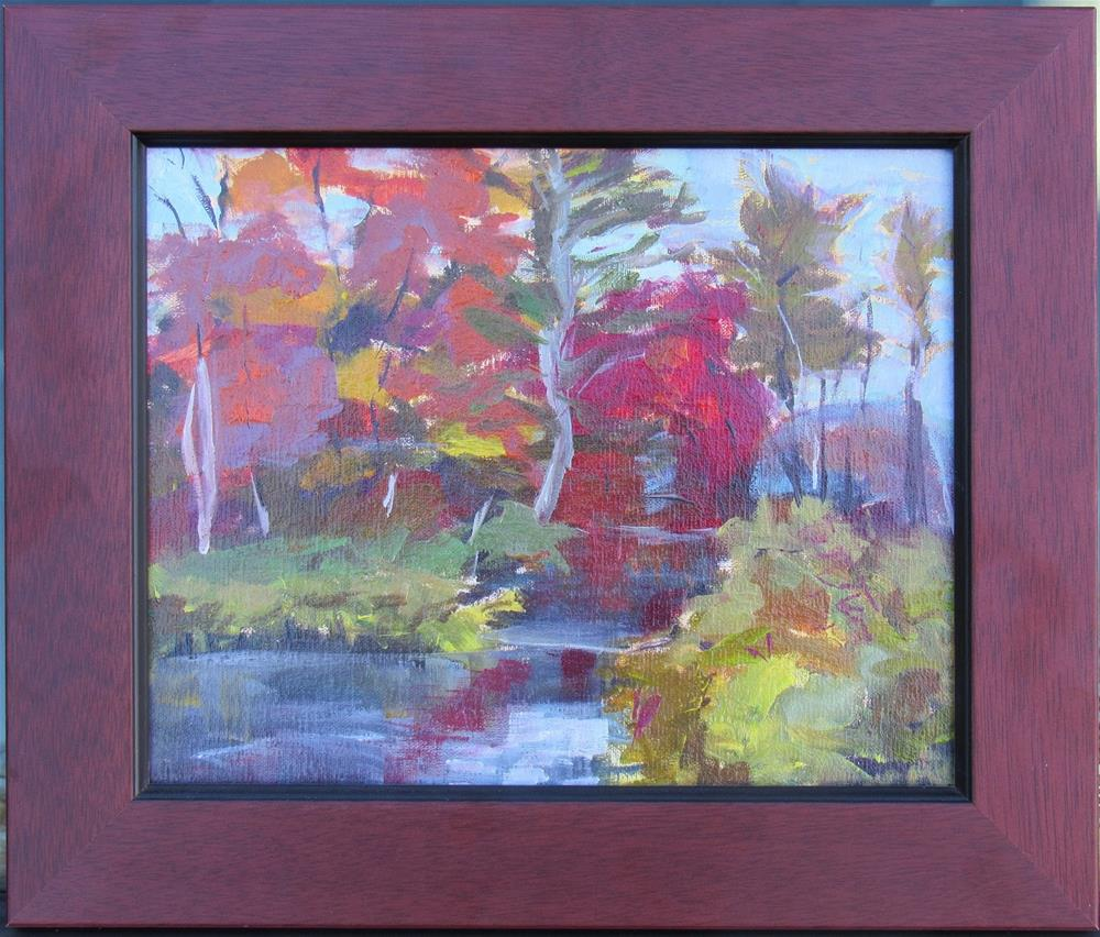 """Swift River East Branch"" original fine art by Dave Gehman"