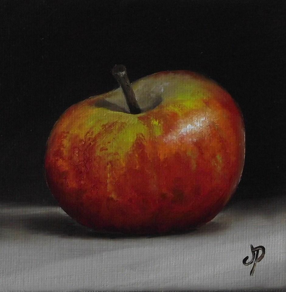 """Little cox pippin #2"" original fine art by Jane Palmer"