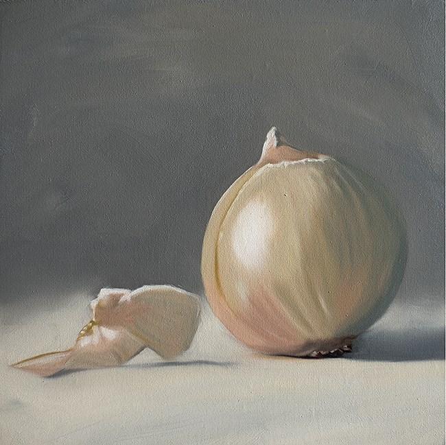 """White Onion"" original fine art by Lauren Pretorius"
