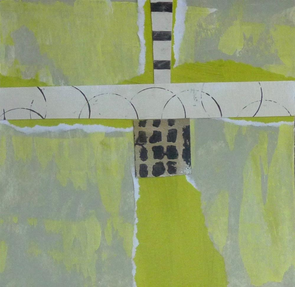 """Collage No. 1"" original fine art by Linda Popple"