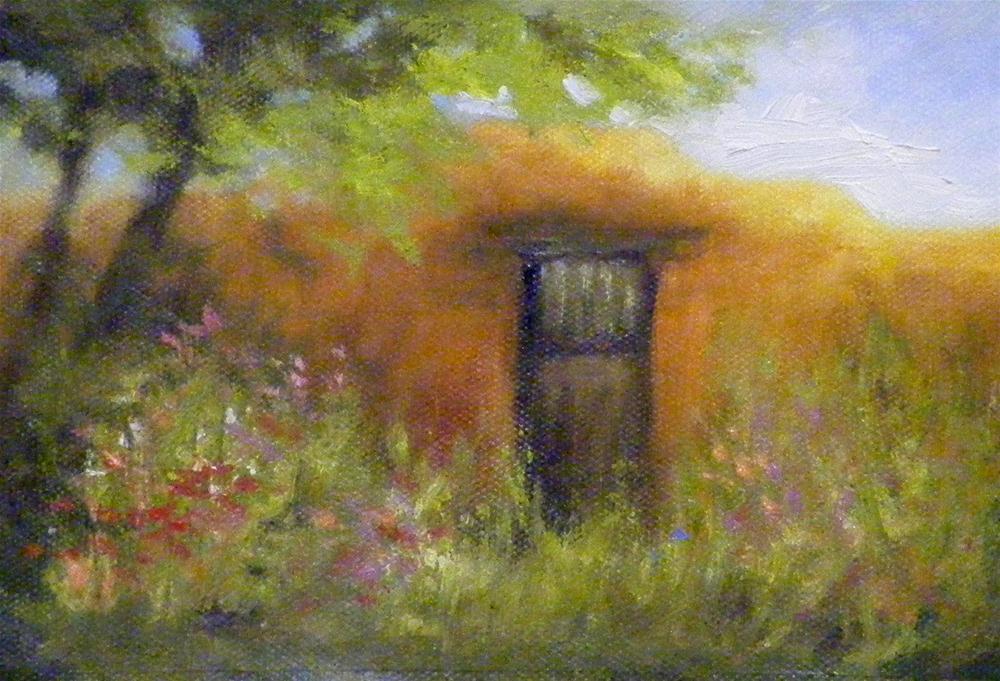 """Spring in the Air, Landscape"" original fine art by Diana Delander"