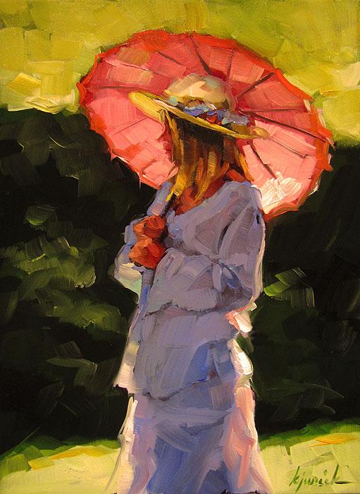 """Belle"" original fine art by Karin Jurick"