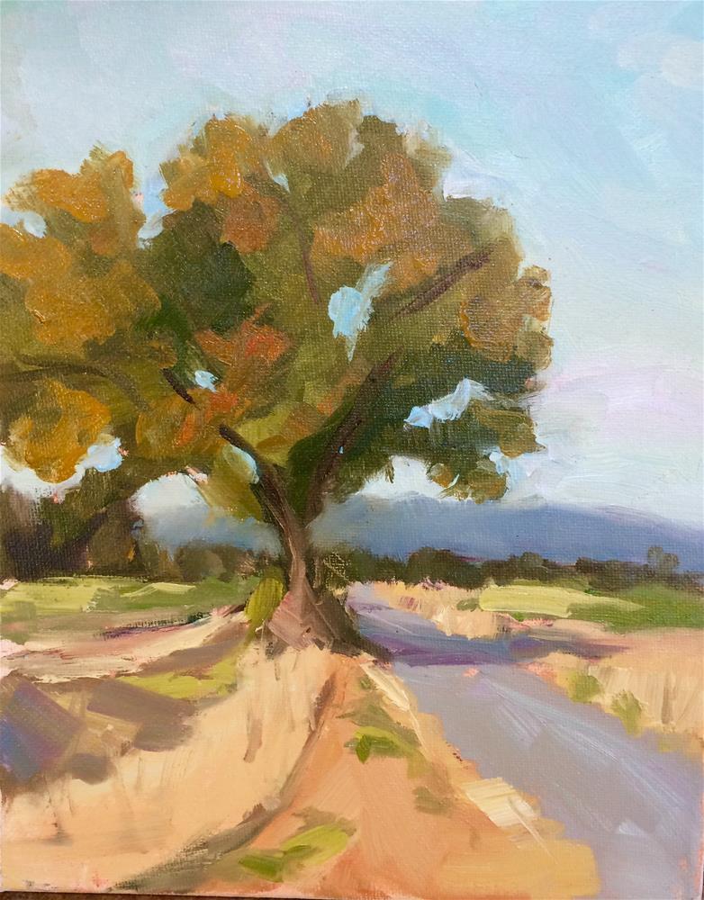 """Lonely Tree"" original fine art by Naomi Bautista"