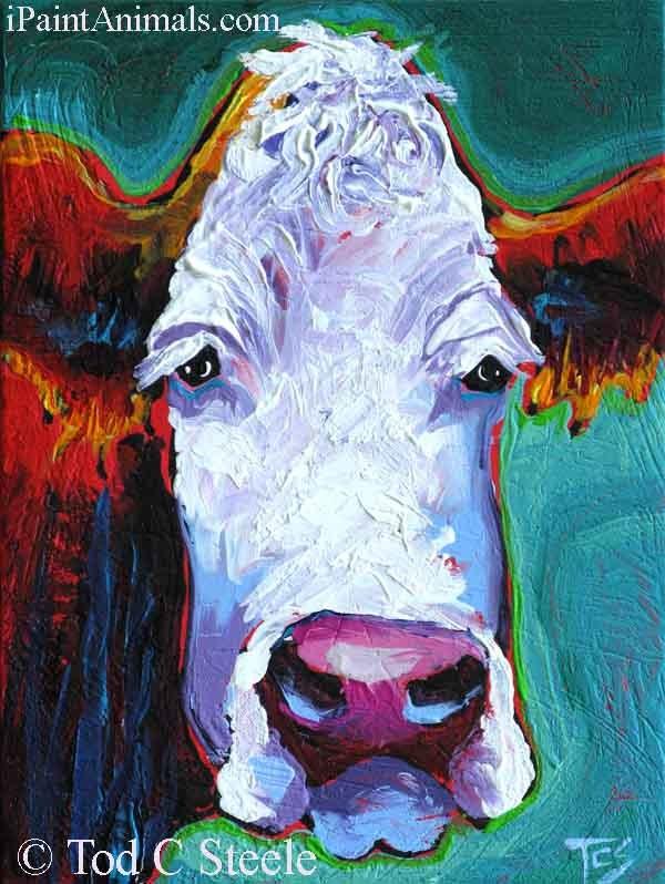 """""""Barbarella Finkelstein - by Tod C Steele - 12x9"""" original fine art by Tod Steele"""