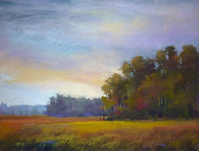 """A Great Benefit of Painting en Plein Air"" original fine art by Karen Margulis"