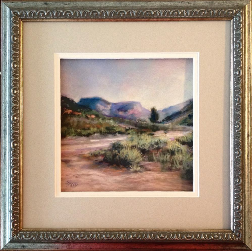 """""""Road to Taos"""" original fine art by Cathy Boyd"""