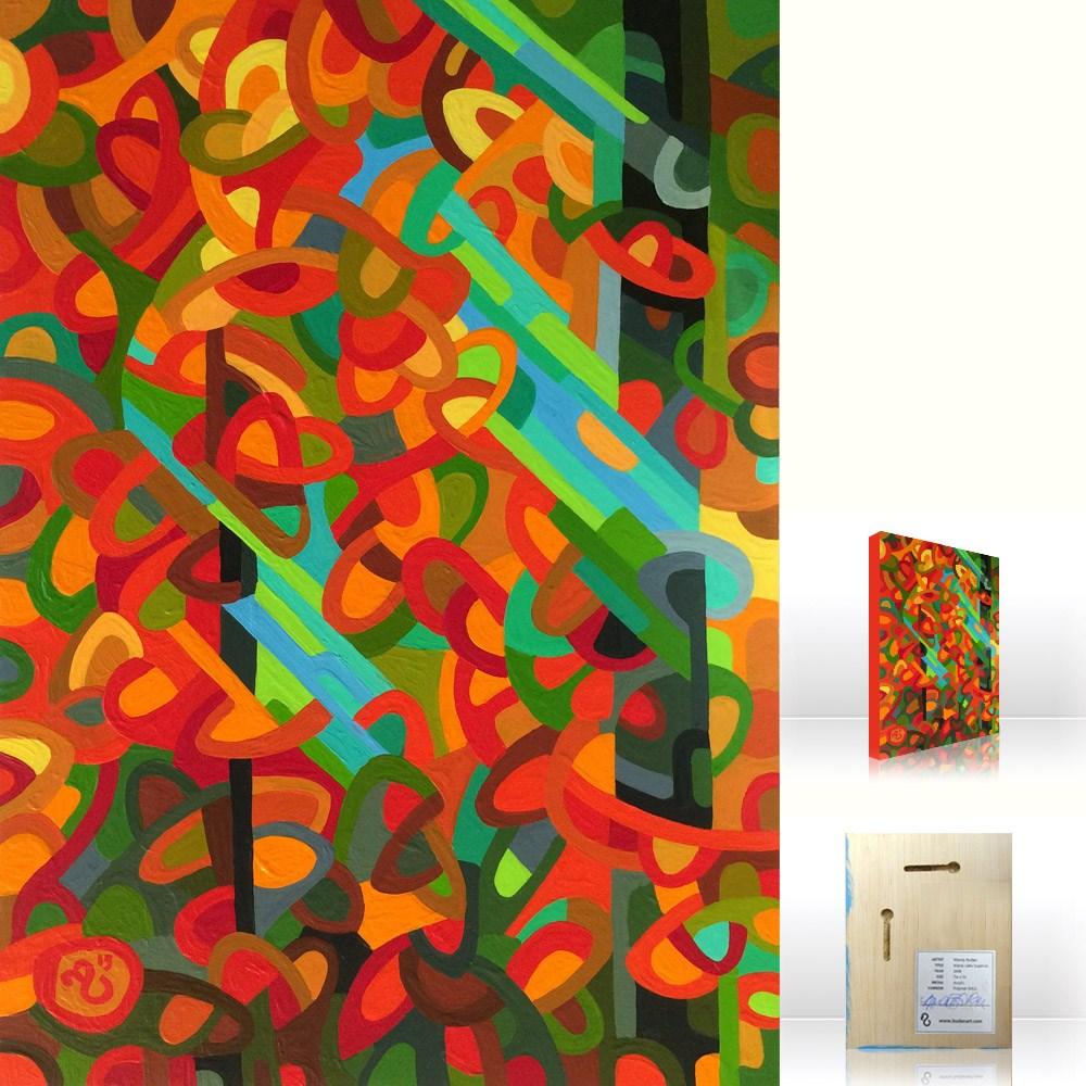 """Landscape Study #77"" original fine art by Mandy Budan"
