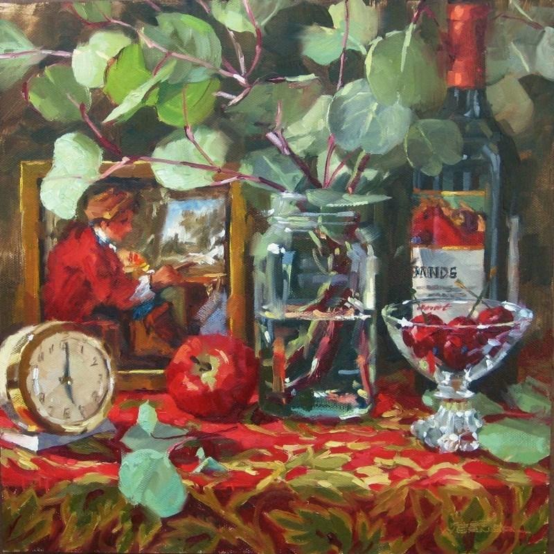 """A Time To Paint"" original fine art by Karen Werner"