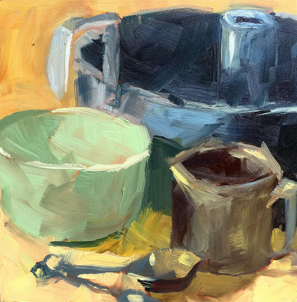 """Grandma's Recipe"" original fine art by Tracy Wise"