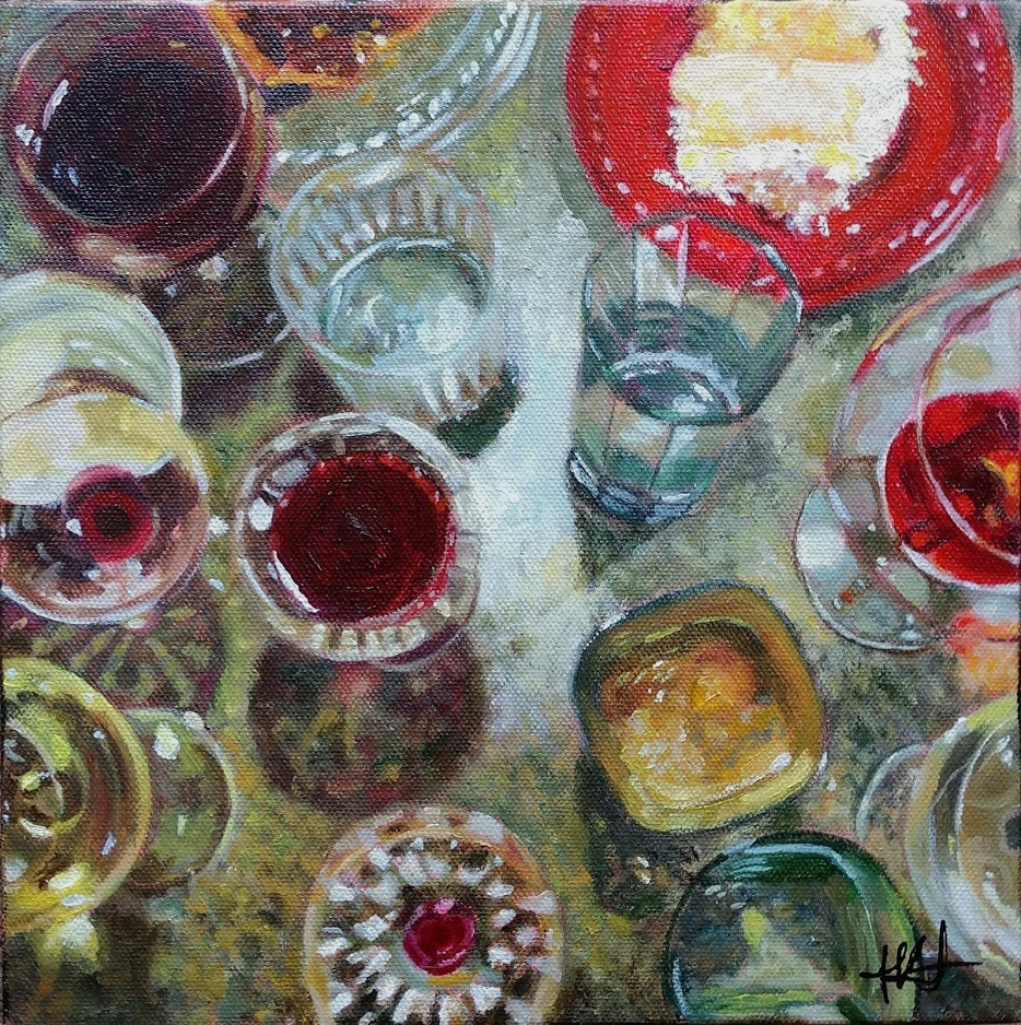 """The Aftermath"" original fine art by Jennifer Krentz"