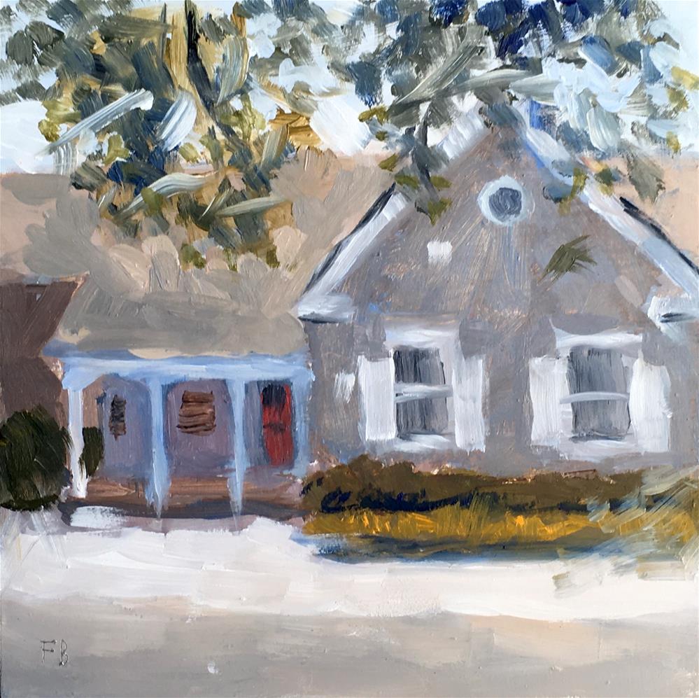 """078 Boerner Botanical Garden Cottage, Milwaukee"" original fine art by Fred Bell"