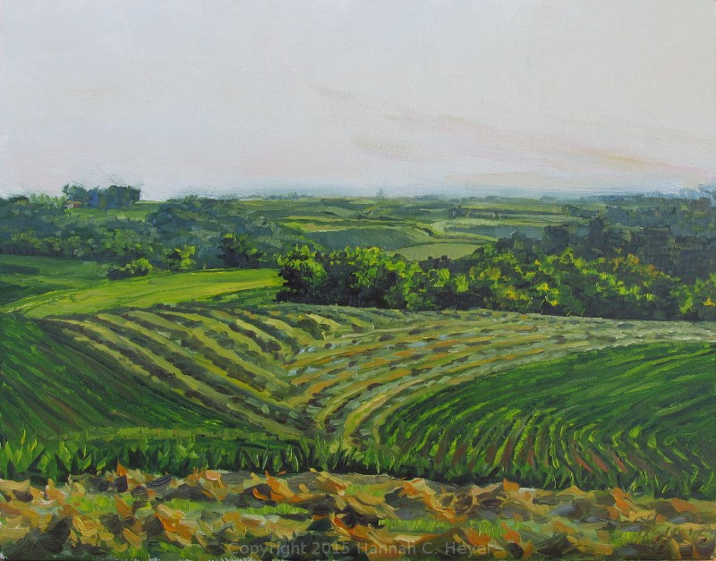 """The Intricate Land"" original fine art by Hannah C. Heyer"