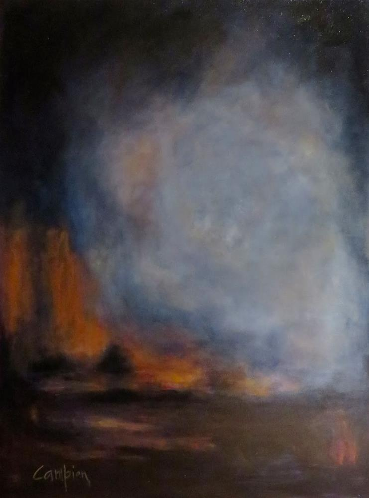 """905 Twilight"" original fine art by Diane Campion"