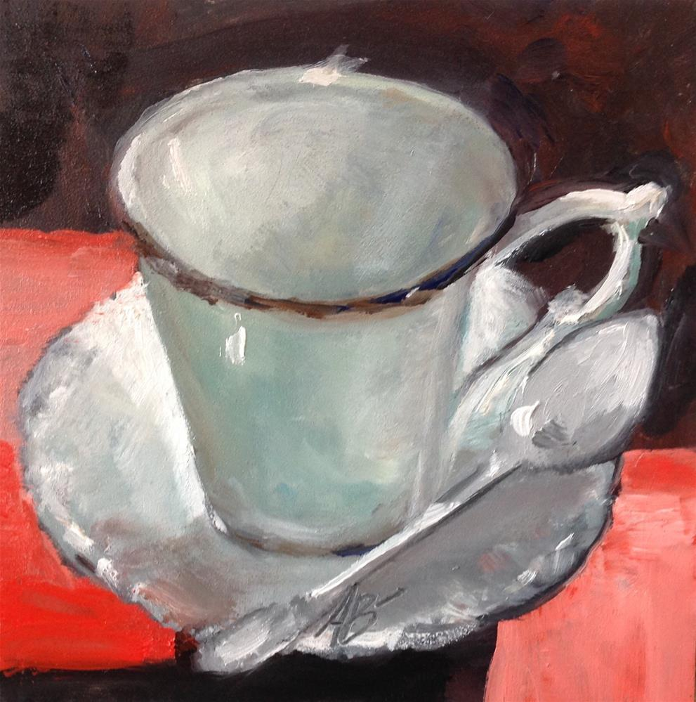 """""""A Cup in the afternoon light"""" original fine art by Annette Balesteri"""